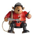 Räuchermann Kantenhocker Feuerwehrmann