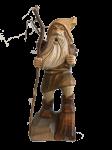 Räuchermann Rübezahl mit Holz