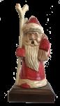 Räuchermann Weihnachtsmann mit Ast