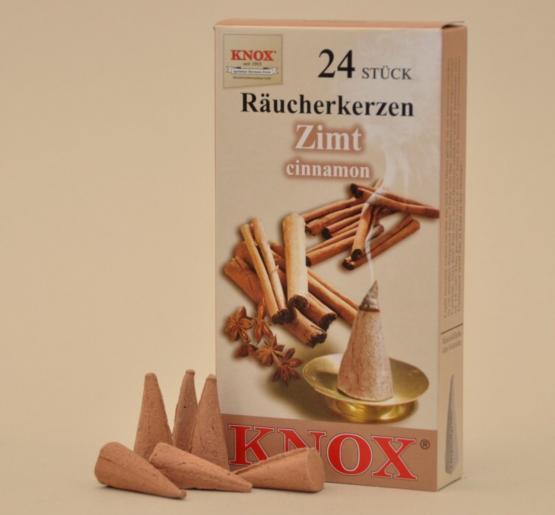 "Knox Räucherkerzen ""Zimt"""